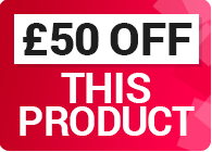 Save a further £50 on this product