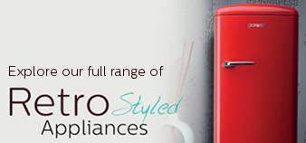 Explore our full range of retro home appliances