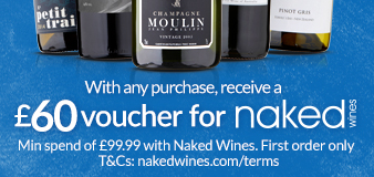 Purchase today to receive your Naked Wines voucher