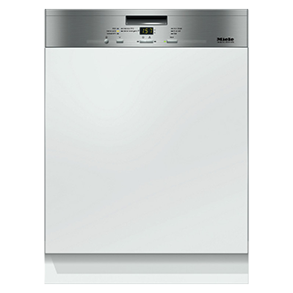 Semi Integrated Dishwasher with door fitted