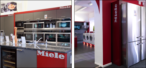 Our Miele Centre displays a large range of Miele appliances