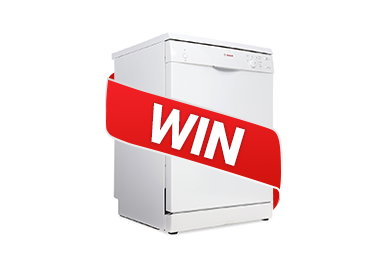 Win A Bosch 12 place Dishwasher