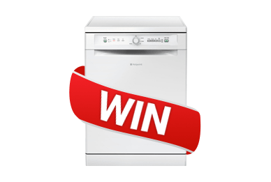 Win a Hotpoint Dishwasher