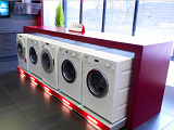 Miele Washing Machines in the Marks Electrical Miele Expriance Center