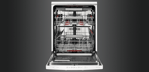 Inside an AEG Dishwasher