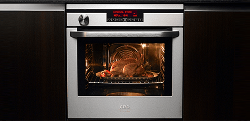 AEG Oven Cooking