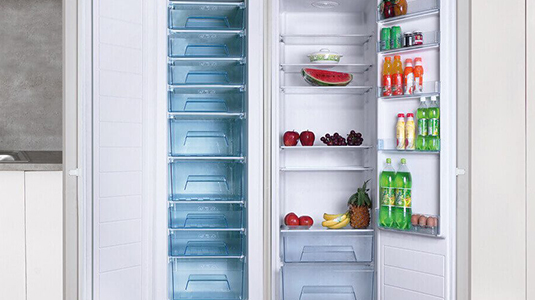 Amica integrated Freezers