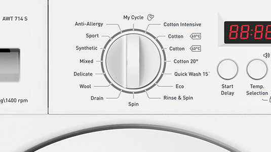Amica integrated washers