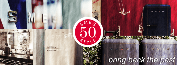 Smeg 50's style - bring back the past