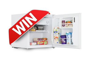 Win a Lec compact fridge