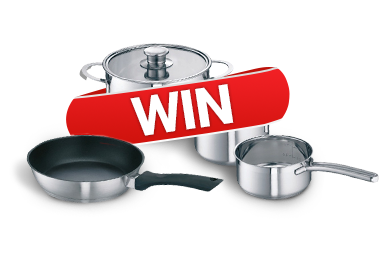 Win a Neff Saucepan Set