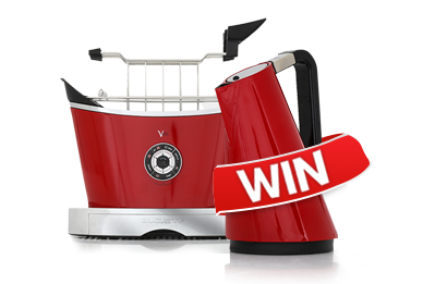 Win a Bugatti Kettle and Toaster