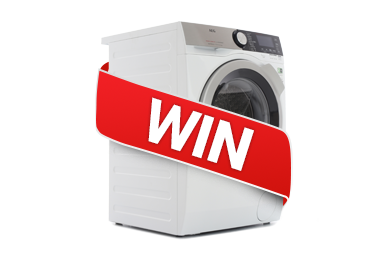 Win a AEG Washing Machine