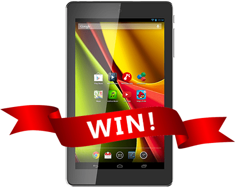 Win an Archos tablet!
