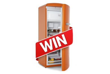 Win a Gorenje Retro Fridge