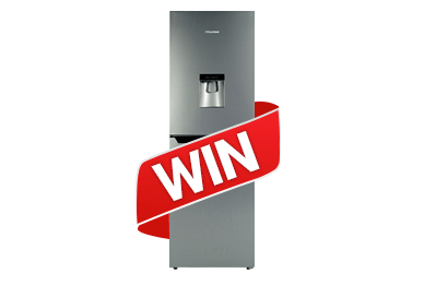 Win a Hisense Fridge Freezer