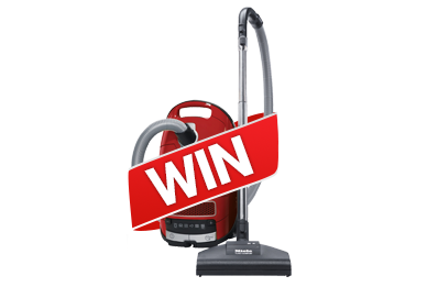 Win A Miele Vacuum Cleaner