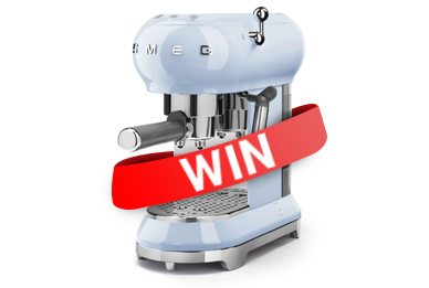 Win A Smeg coffee machine