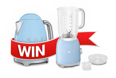 Win a Smeg Kettle and Blender!