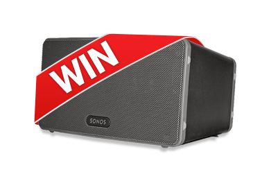 Win a Sonos Play:3 Wireless Speaker