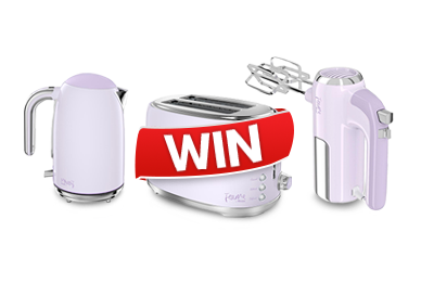 Win a Swan Kettle, Toaster and Hand Mixer