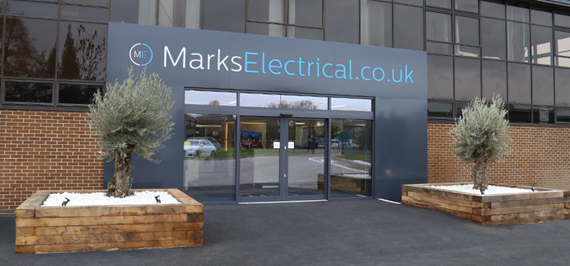 The front of our Leicester Showroom