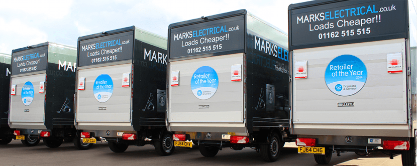 Our Fleet of Delivery Vehicles
