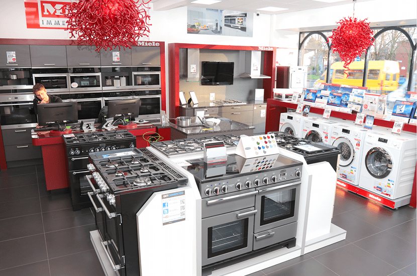 Inside our Dedicated Miele Experience Centre